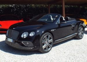 Bentley Continental GTC V8 - Luxury Garage Service